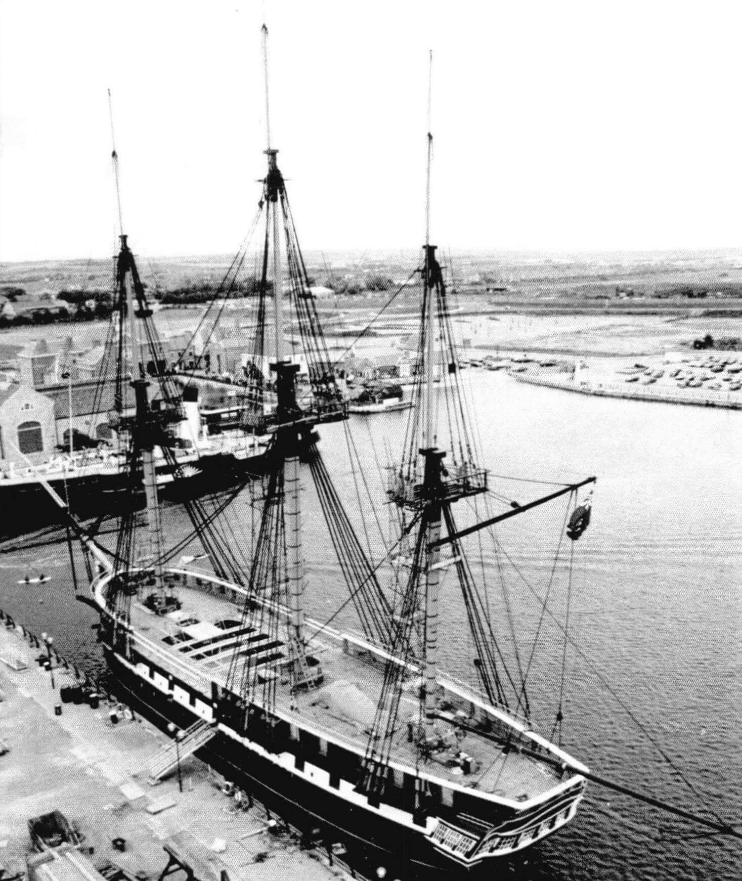 Восстановленный «Тринкомали»- корабль-музей в Хартлепуле