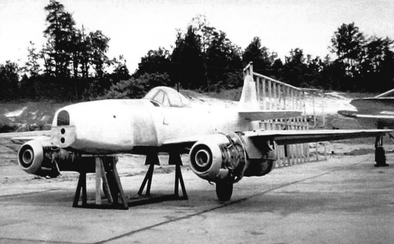 J9Y1 Kikka на авиабазе Патуксент (штат Мэриленд), 1946 год